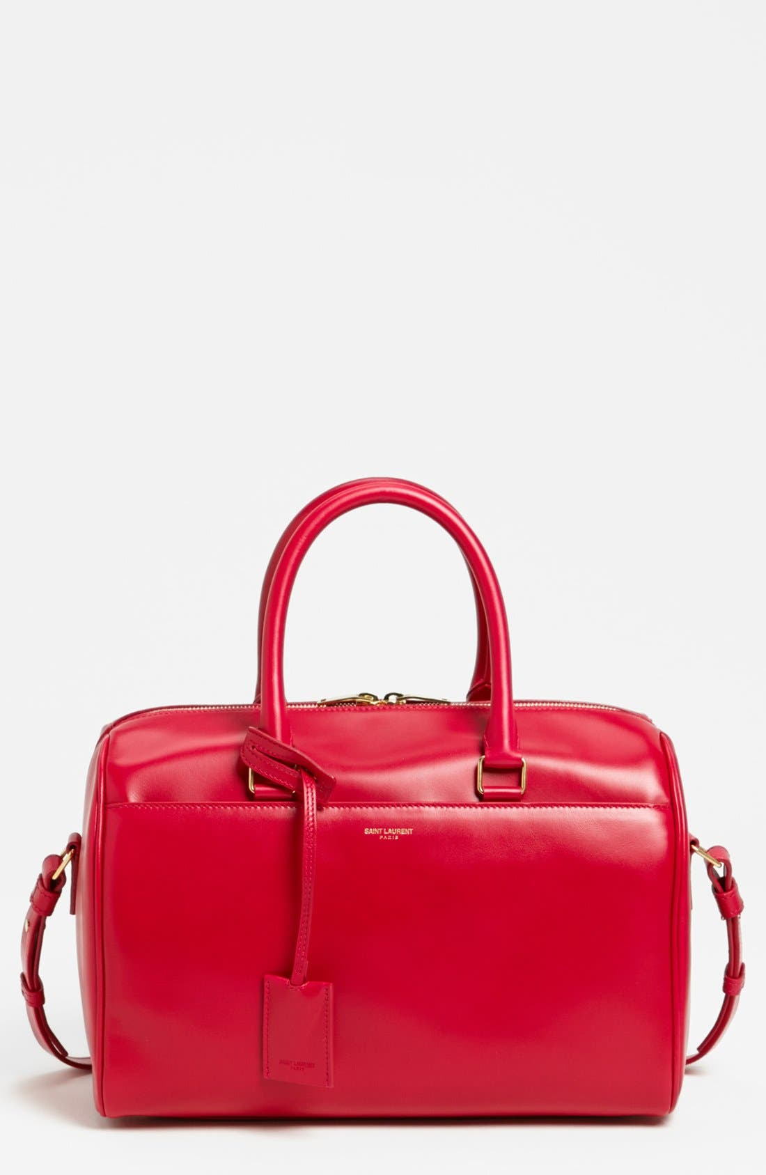Main Image - Saint Laurent 'Medium Duffle 6' Leather Satchel