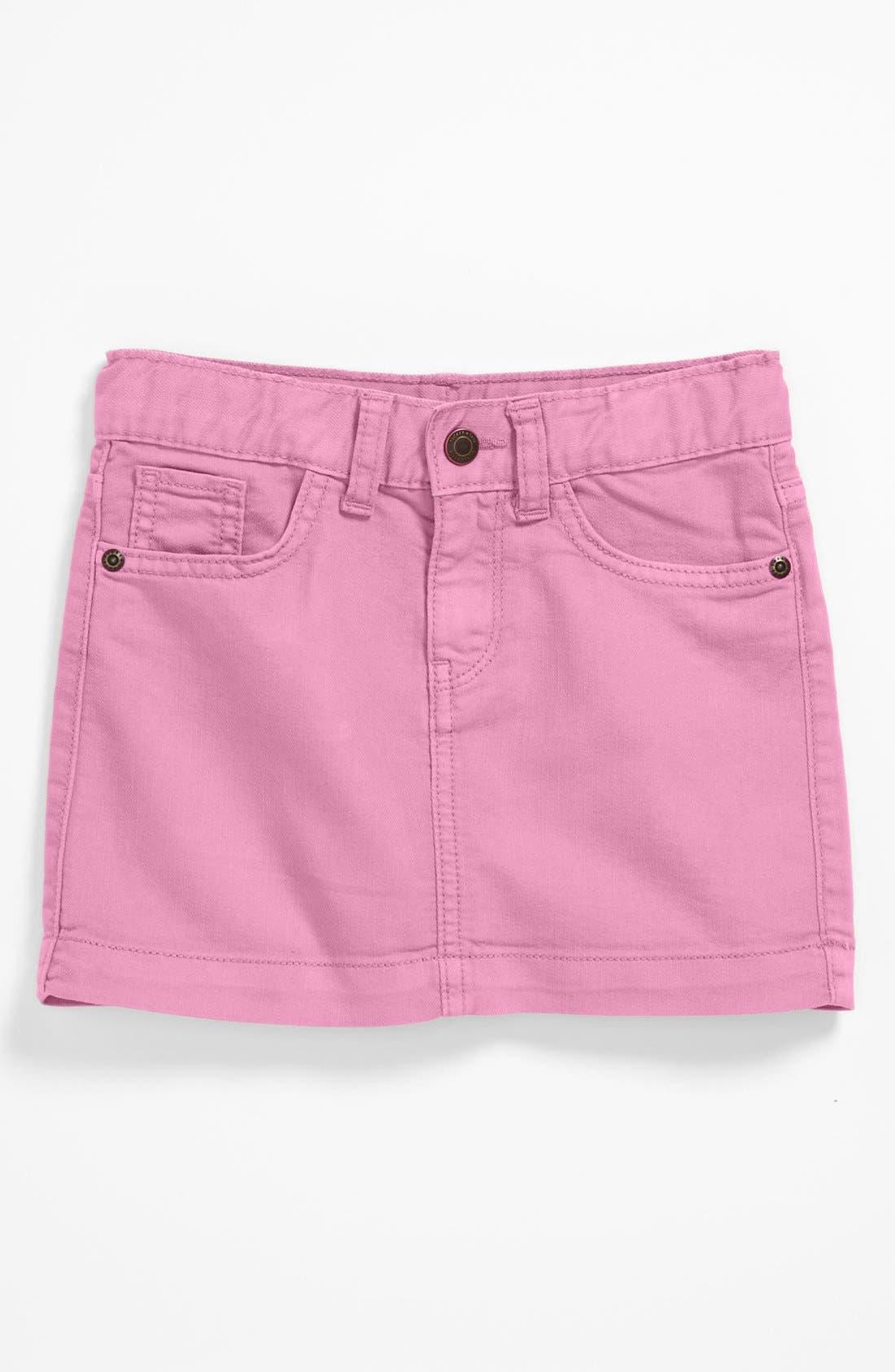 Alternate Image 1 Selected - Tucker + Tate Denim Skirt (Big Girls)