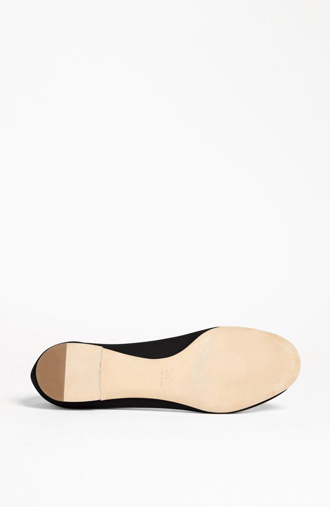 Alternate Image 4  - Chloé 'Lauren' Ballerina Flat