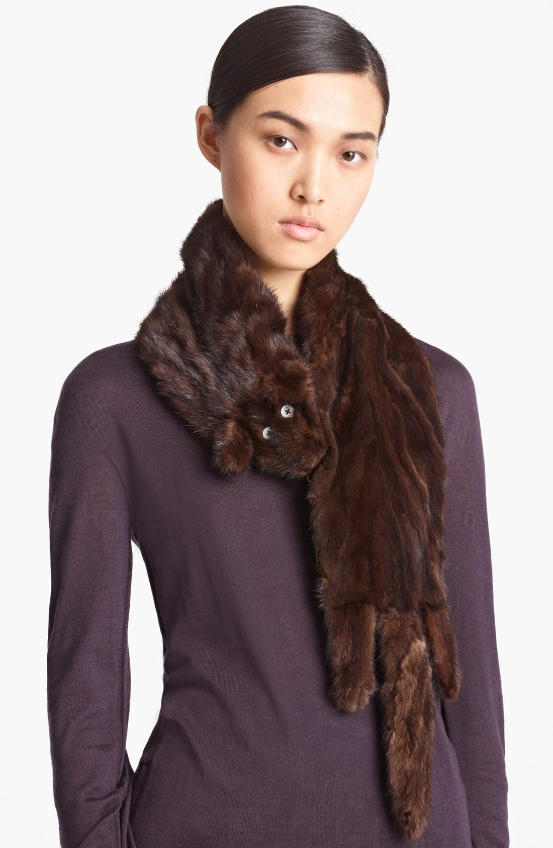 Alternate Image 1 Selected - MARC JACOBS 'Freddie' Genuine Mink Stole