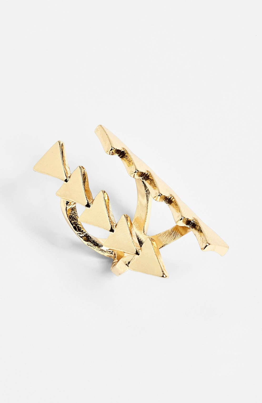 Alternate Image 1 Selected - Cachet Creations 'Triangle' Ring (Juniors)