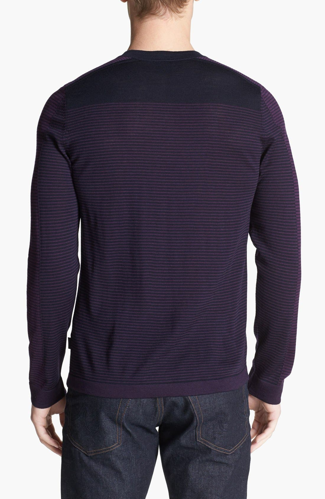 Alternate Image 2  - BOSS HUGO BOSS 'Merro' Merino Wool Sweater