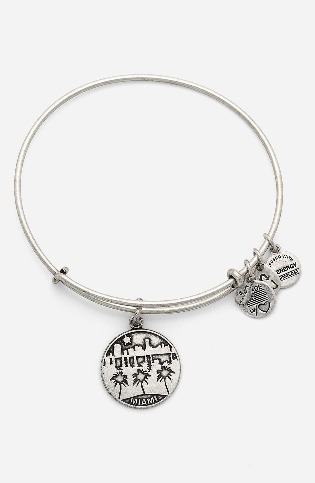 Alternate Image 1 Selected - Alex and Ani 'Miami' Expandable Wire Bracelet