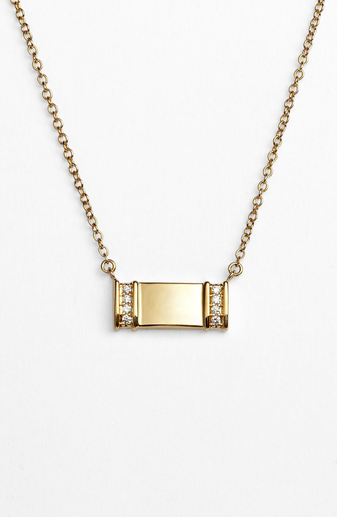 Alternate Image 1 Selected - Kwiat 'Mollie Faith' Small Tablet Pendant Necklace