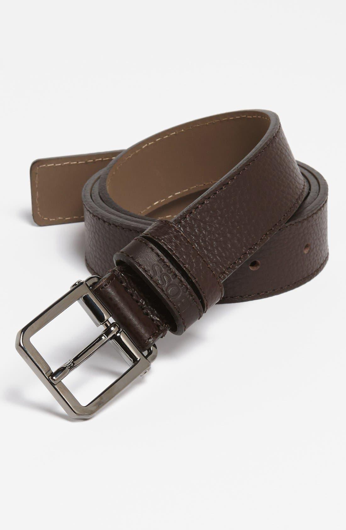 Main Image - BOSS HUGO BOSS 'Crosby' Leather Belt