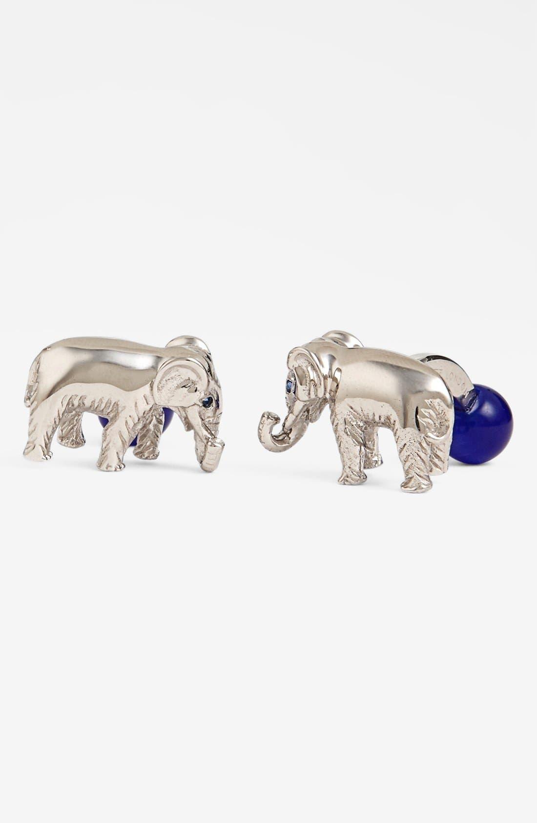Alternate Image 1 Selected - Tateossian 'Elephant' Cuff Links