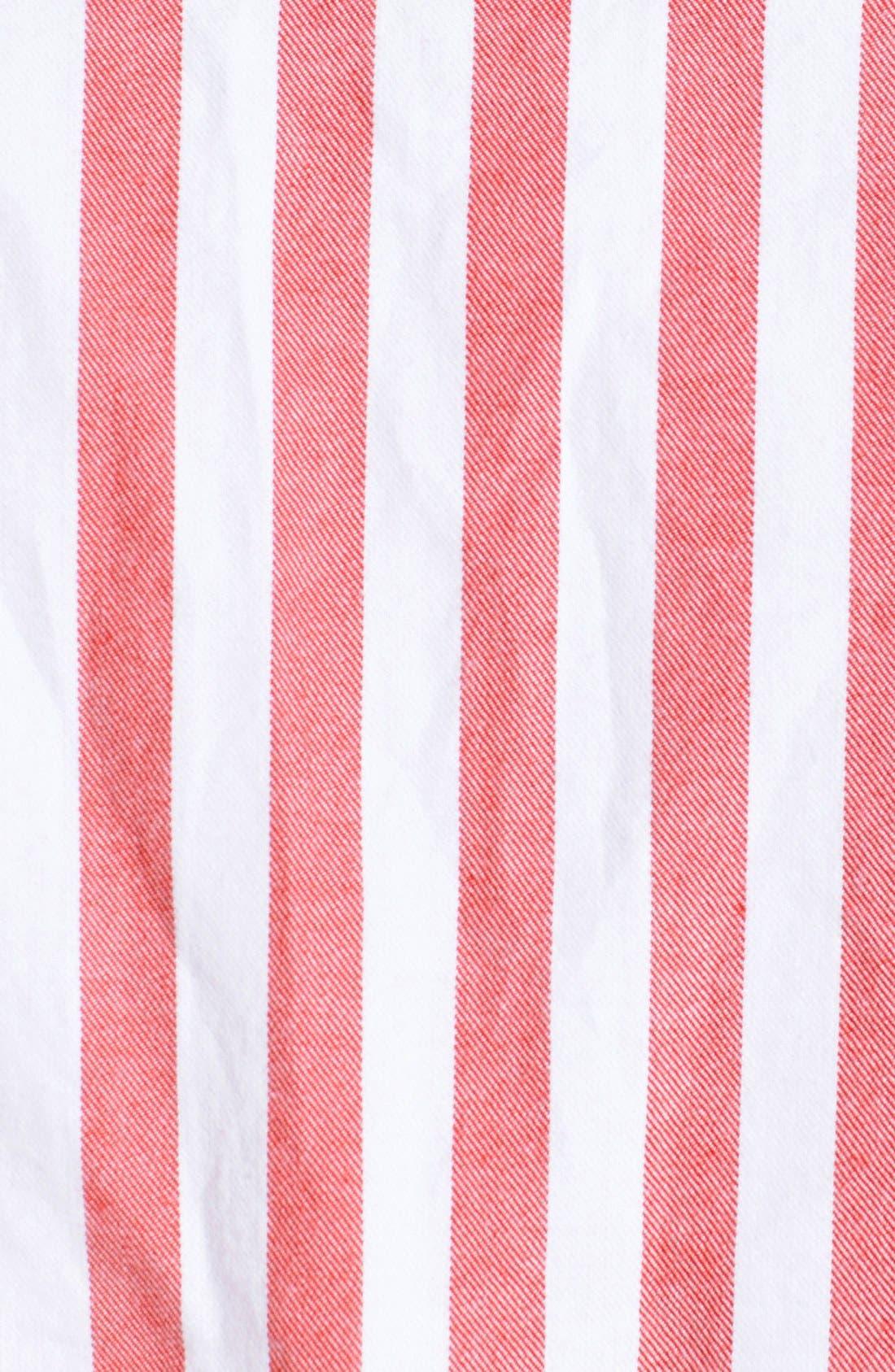 Alternate Image 3  - Topman Mixed Stripe Panel Shirt