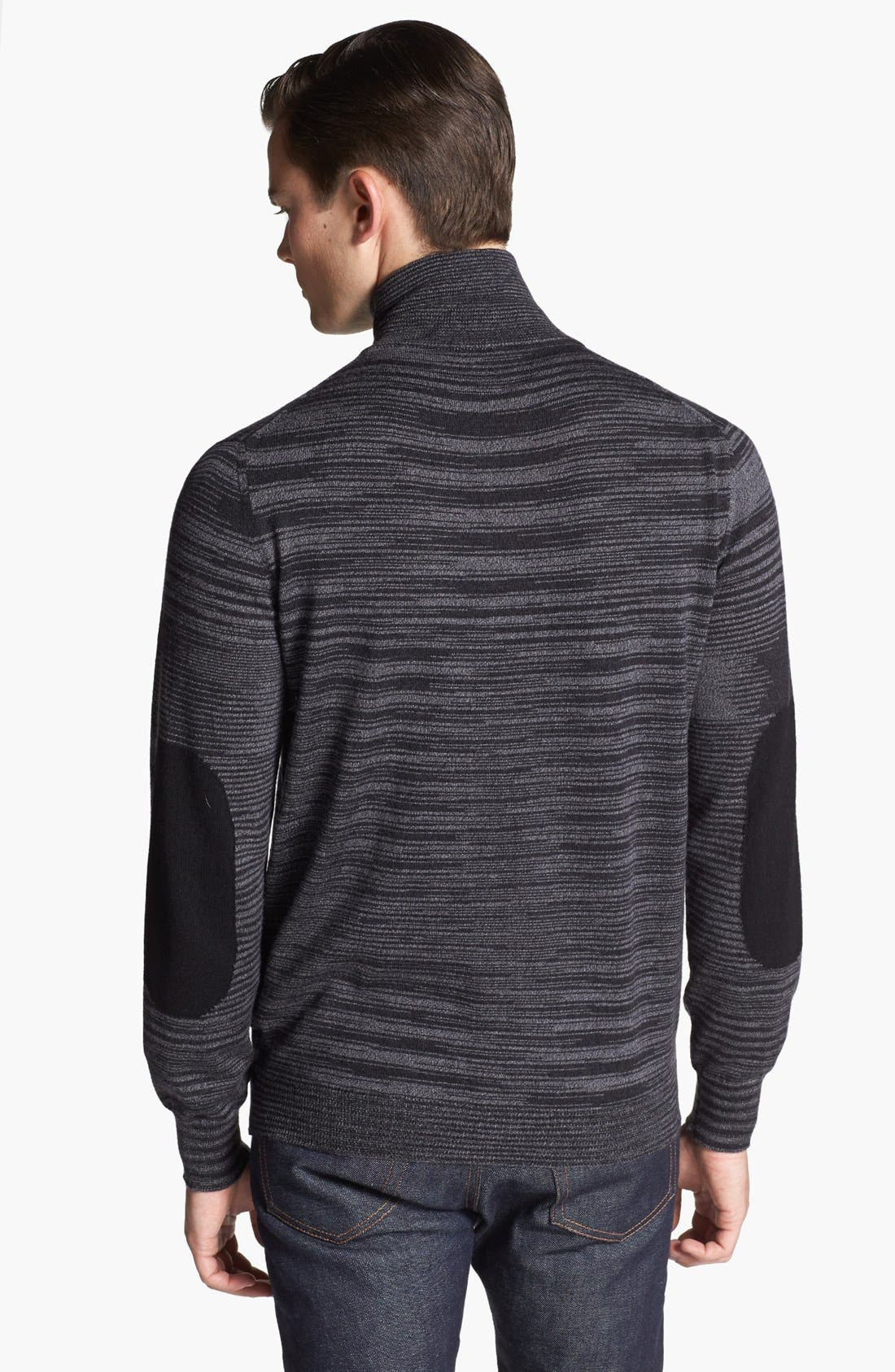 Alternate Image 2  - Missoni Space Dyed Wool Zip Sweater