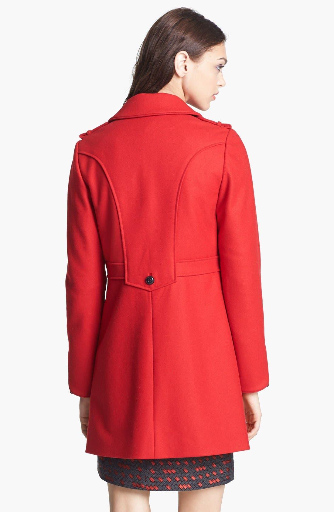 Alternate Image 4  - Miss Wu 'Torre' Wool Blend Military Jacket (Nordstrom Exclusive)