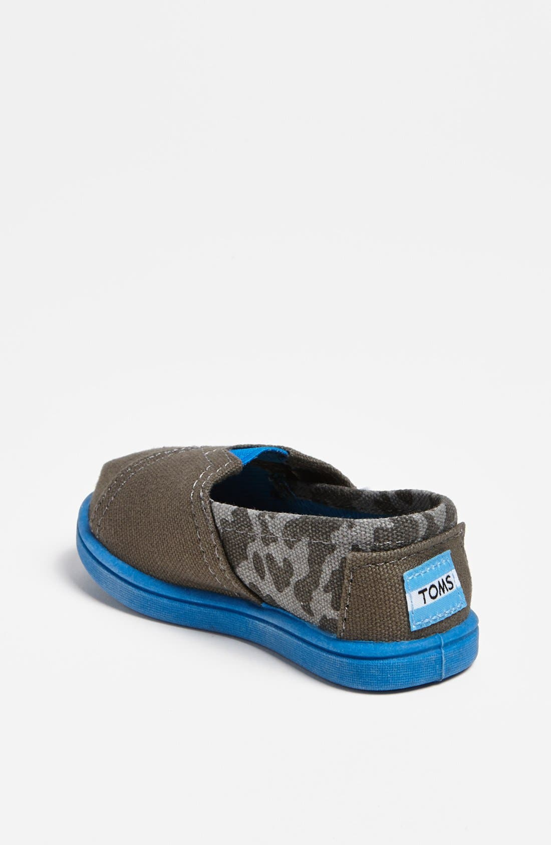 Alternate Image 2  - TOMS 'Classic Tiny - Camo' Slip-On (Baby, Walker & Toddler)