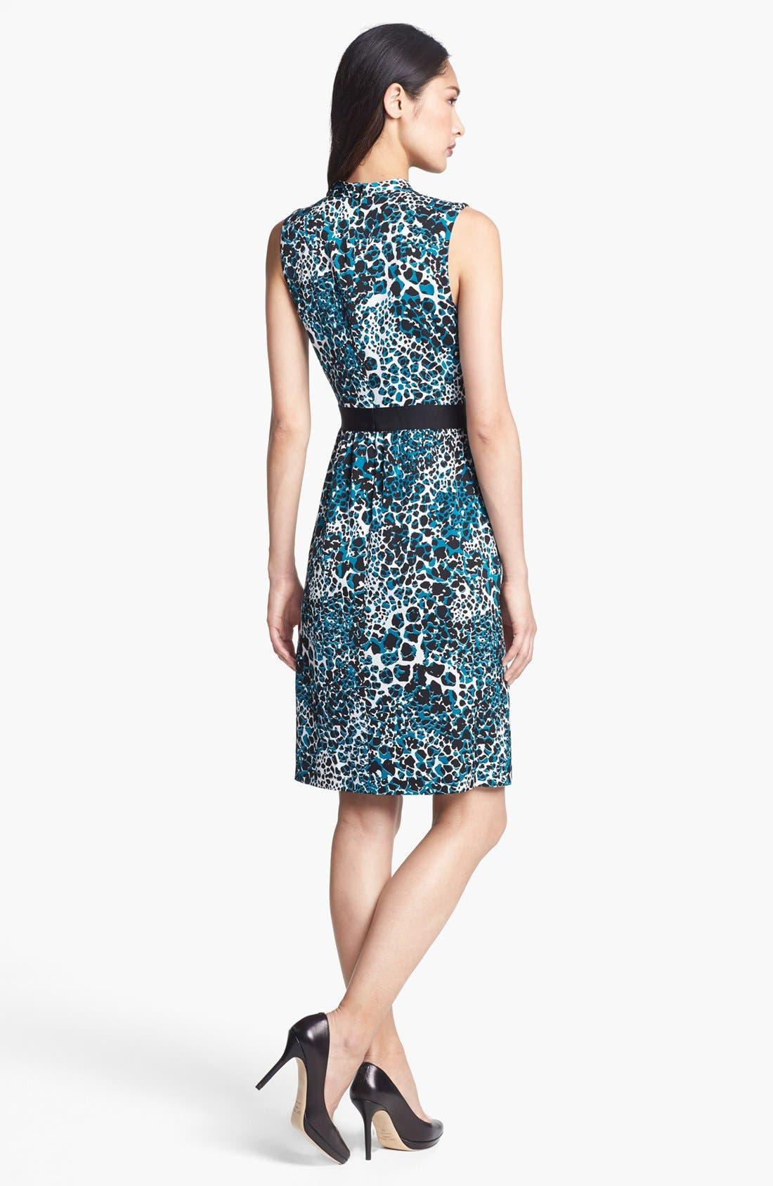 Alternate Image 2  - Classiques Entier® Sleeveless Stretch Silk Dress