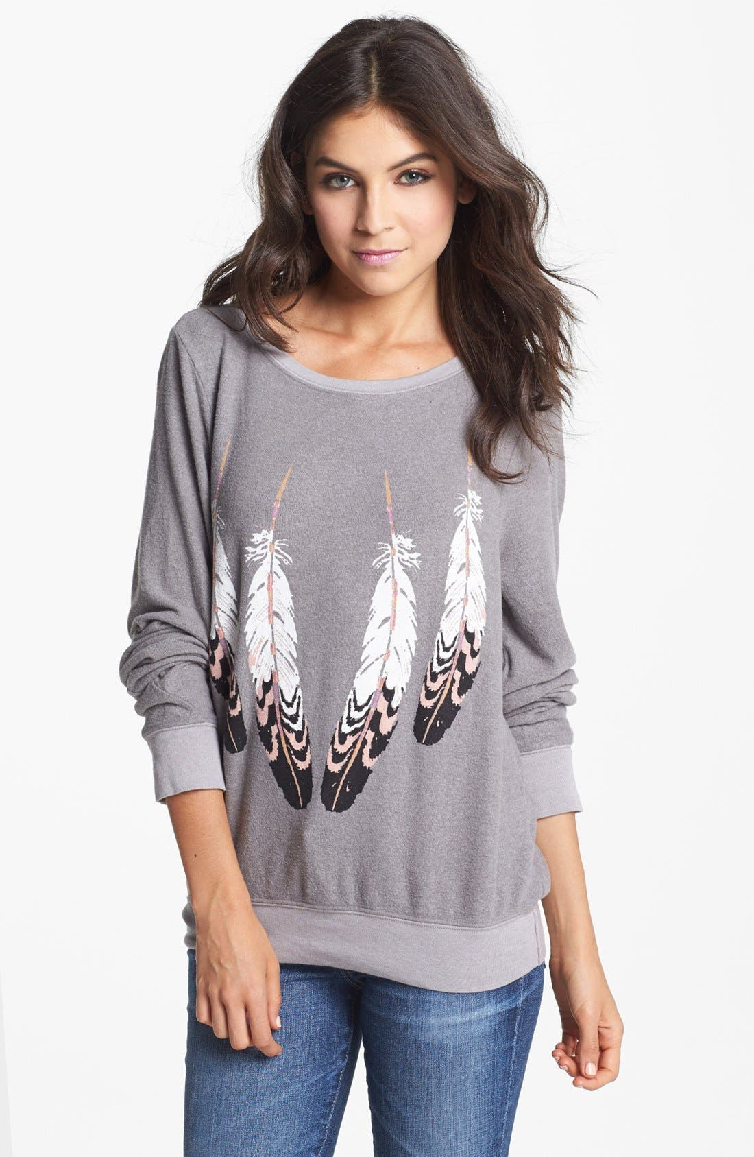 Main Image - Wildfox 'Topanga Canyon' Sweatshirt