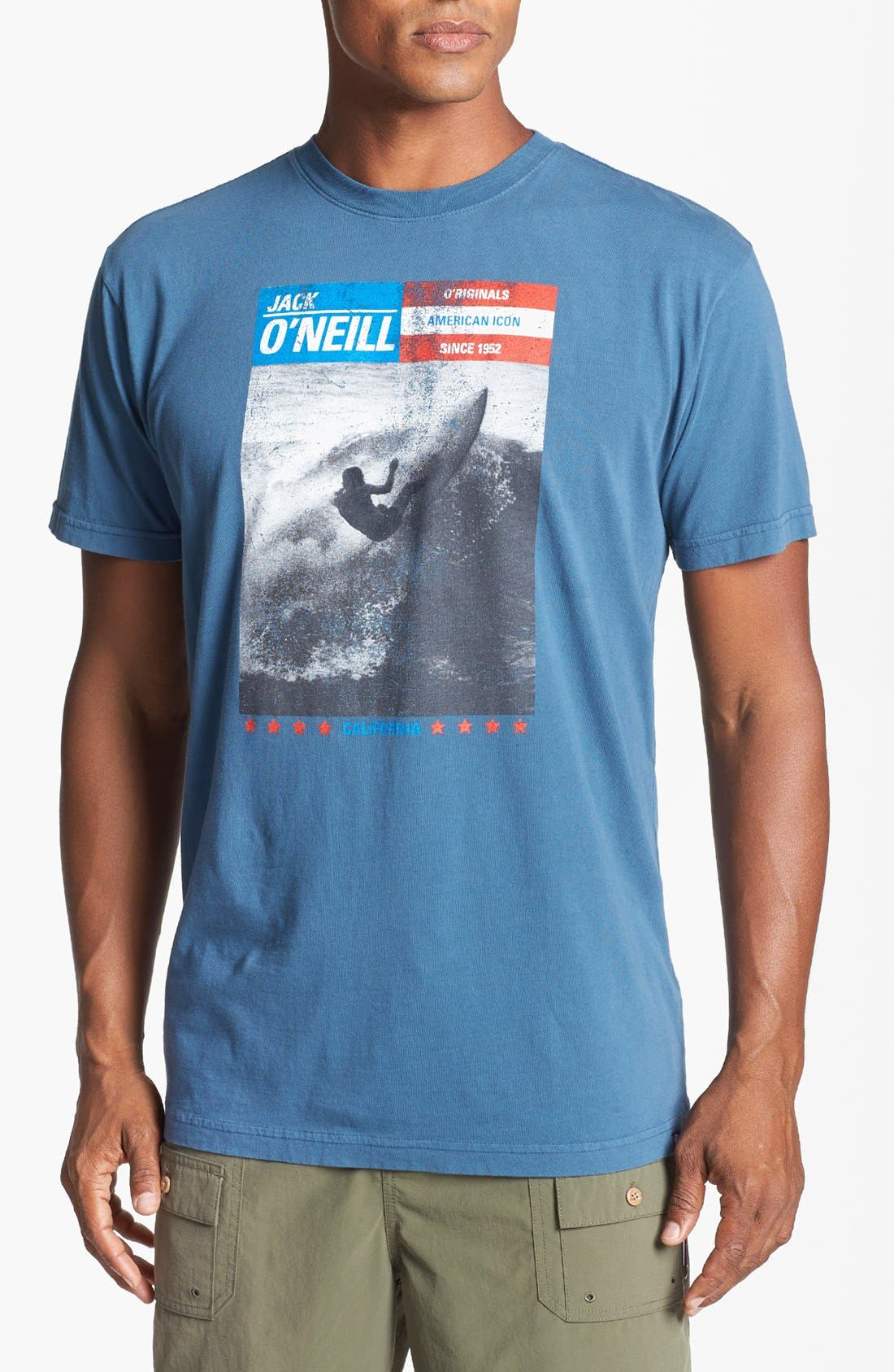 Alternate Image 1 Selected - Jack O'Neill 'Surf Guide' T-Shirt
