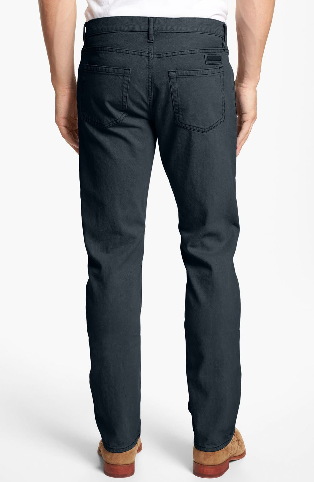 Alternate Image 2  - Burberry Brit 'Steadman' Straight Leg Jeans