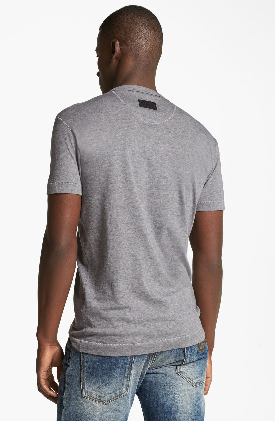 Alternate Image 2  - Dolce&Gabbana Logo V-Neck T-Shirt