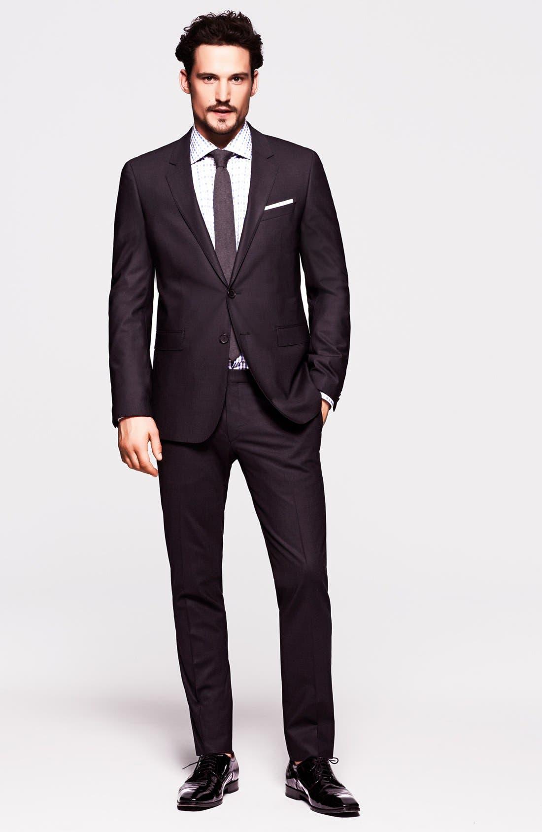 Alternate Image 7  - BOSS Black 'Ryan/Win' Extra Trim Fit Suit