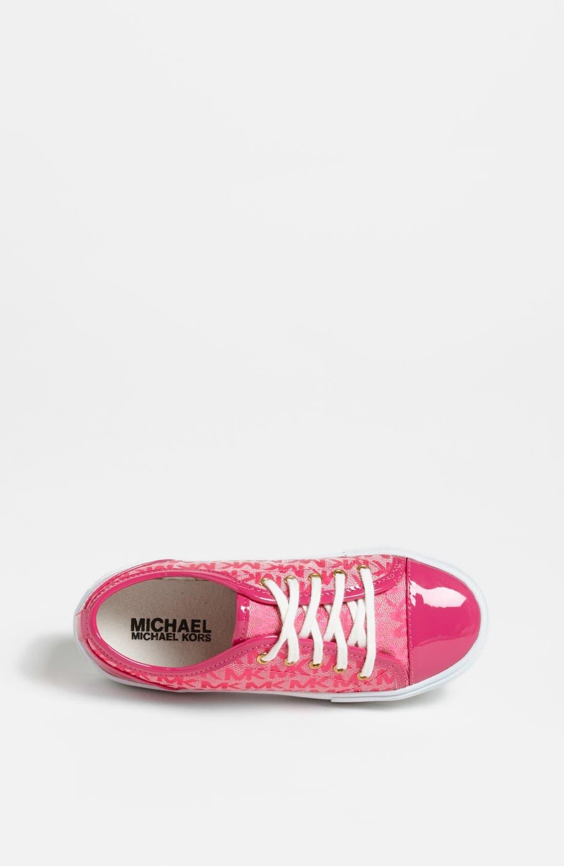 Alternate Image 3  - MICHAEL Michael Kors Sneaker (Toddler, Little Kid & Big Kid)