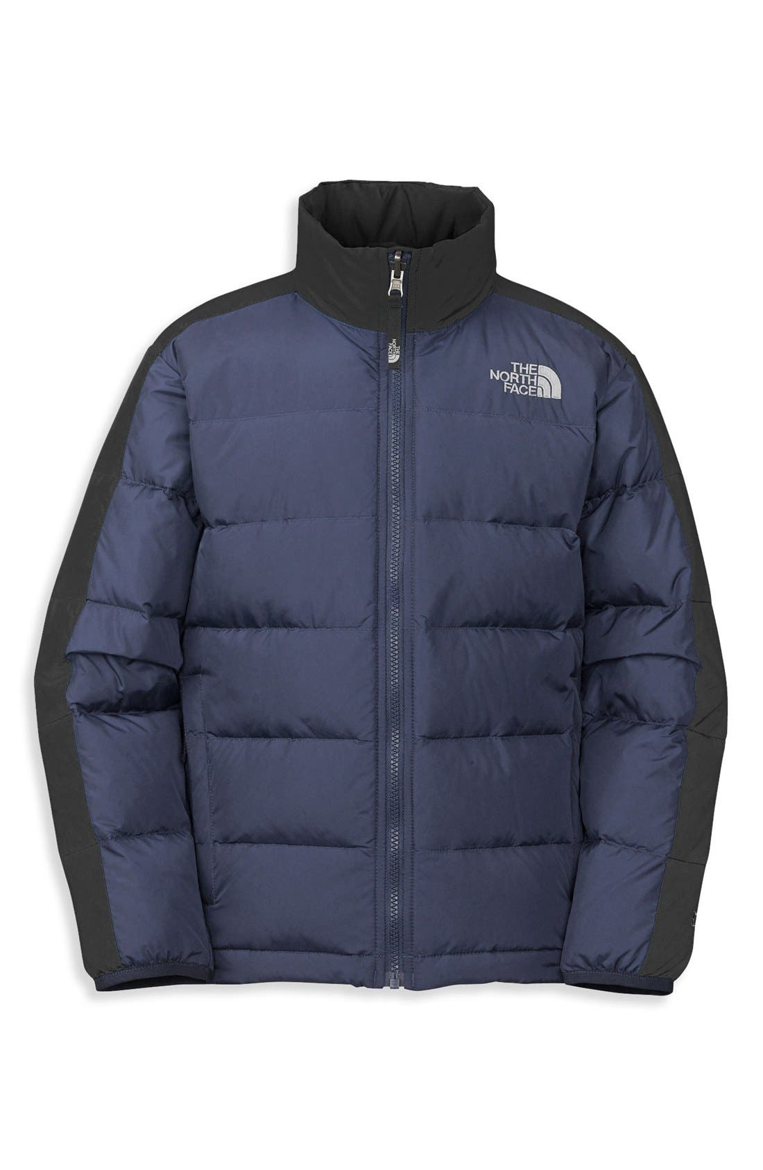 Alternate Image 1 Selected - The North Face 'Aconcagua' Down Jacket (Big Boys)