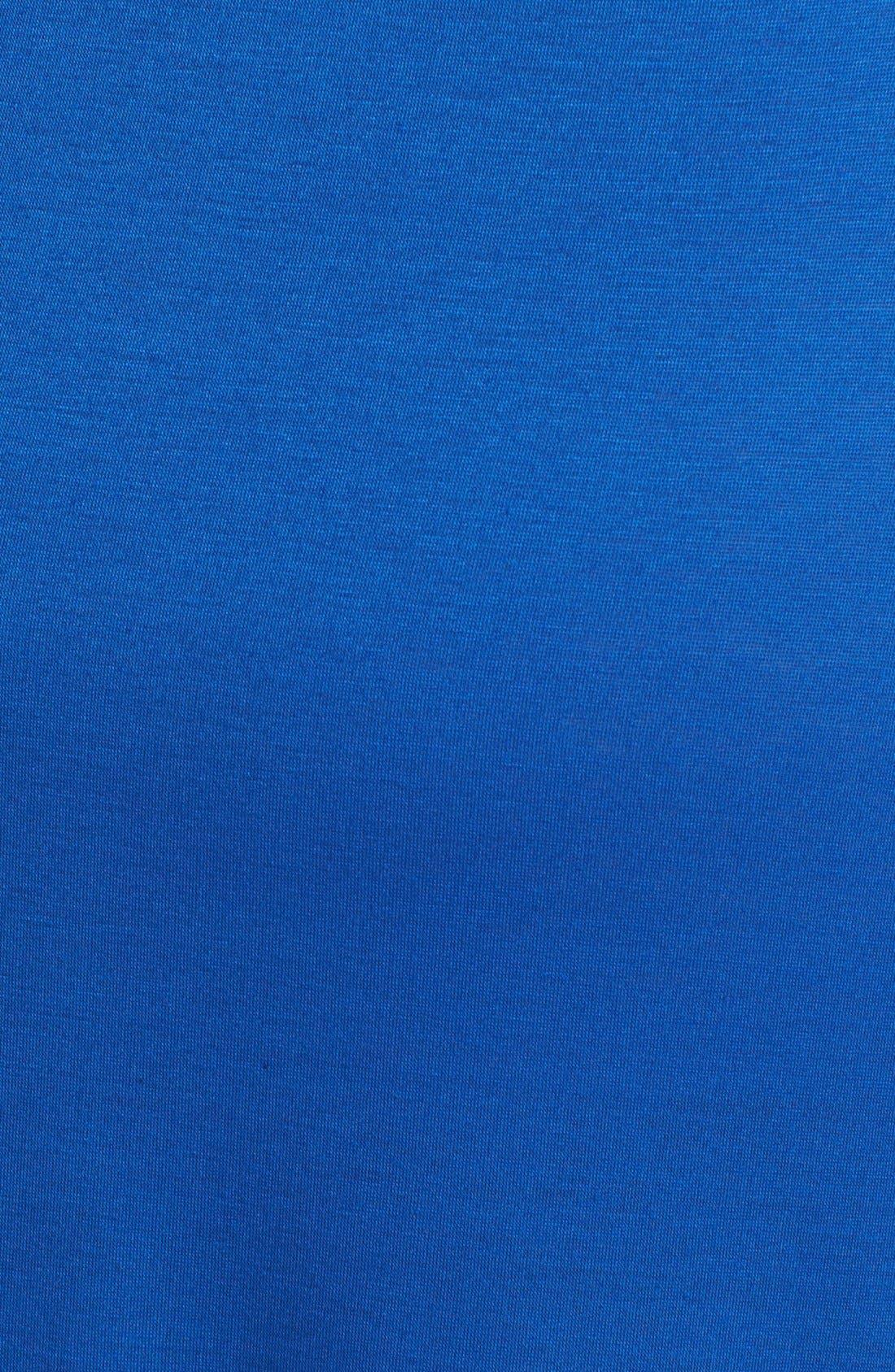 Alternate Image 3  - Lily White Foldover Maxi Skirt (Juniors Plus)
