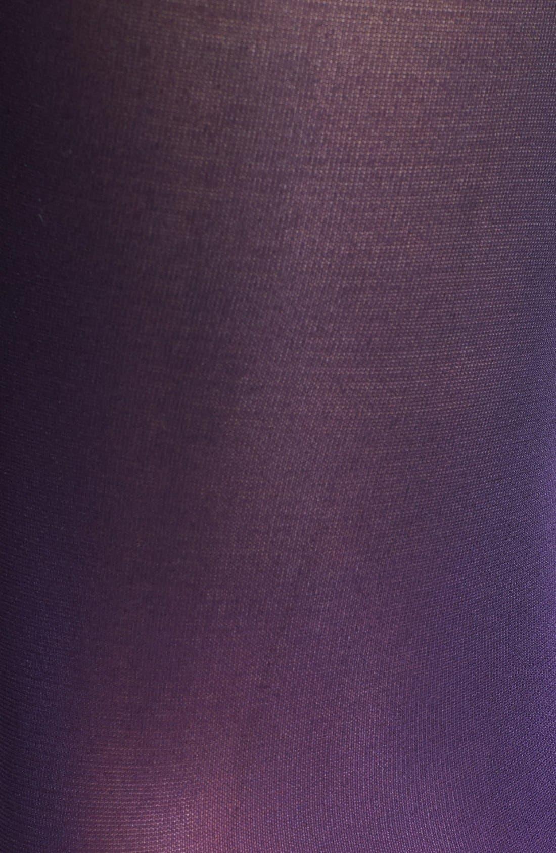 Alternate Image 2  - DKNY Ombré Tights