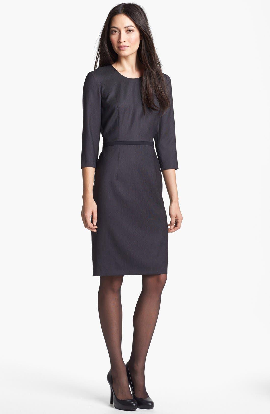 Alternate Image 1 Selected - BOSS HUGO BOSS 'Dinamela 1' Dress