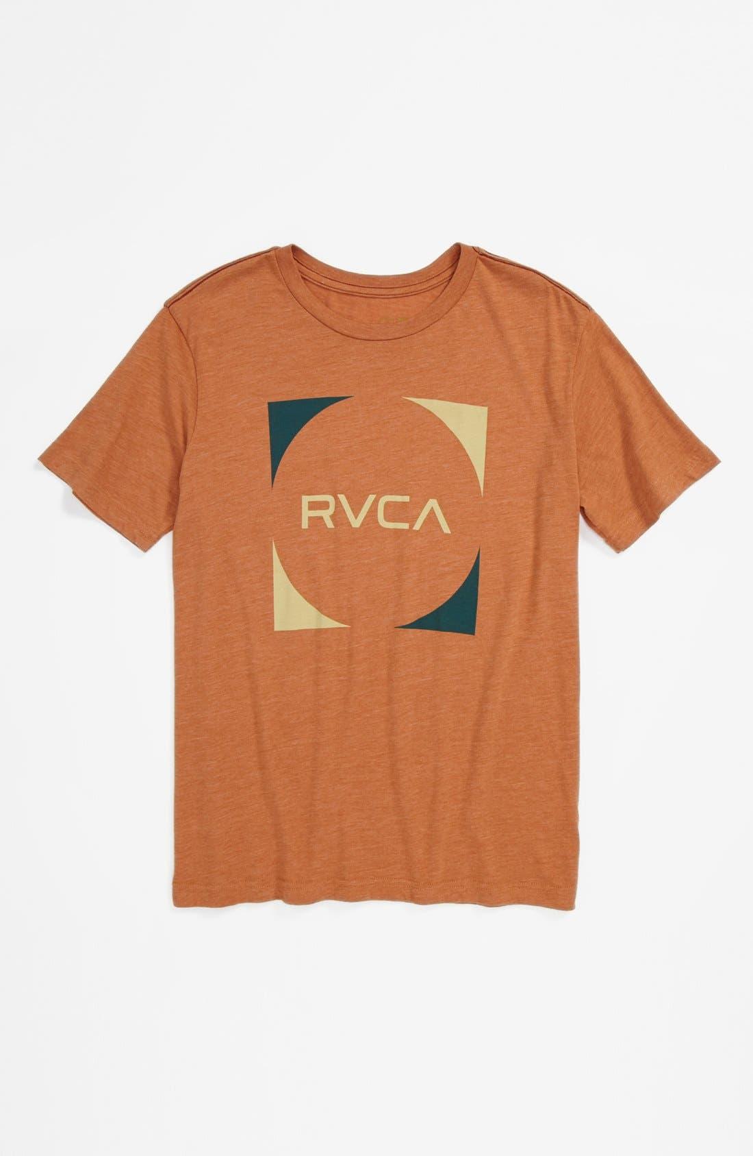 Alternate Image 1 Selected - RVCA 'Baller' T-Shirt (Big Boys)