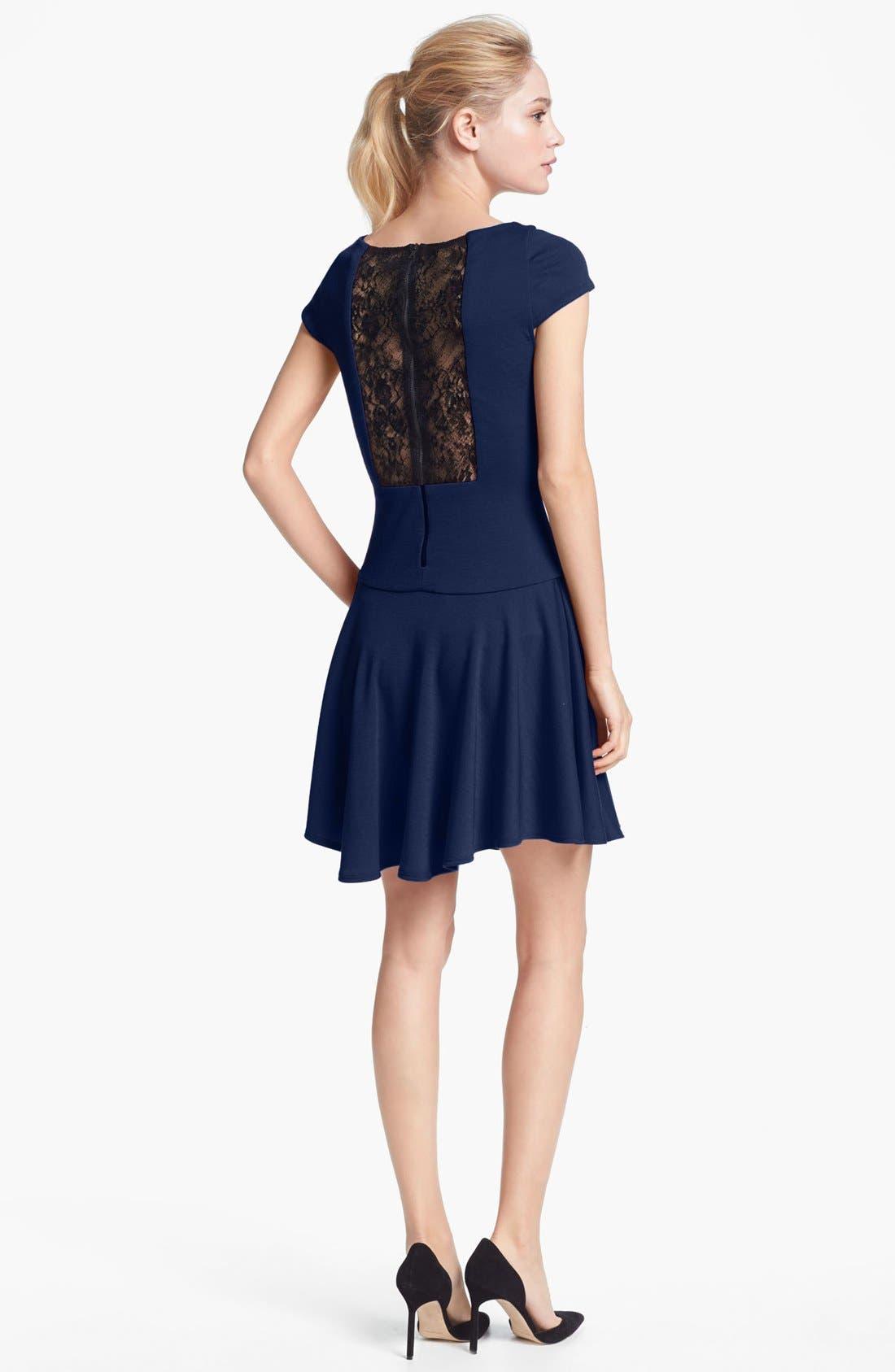 Alternate Image 2  - Alice + Olivia 'Rylie' Fit & Flare Dress