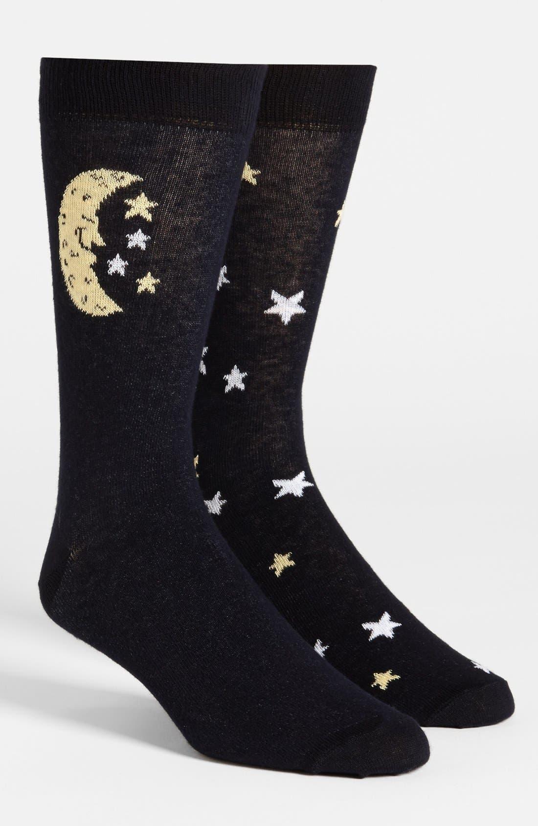 Main Image - Topman Stars & Moon Socks
