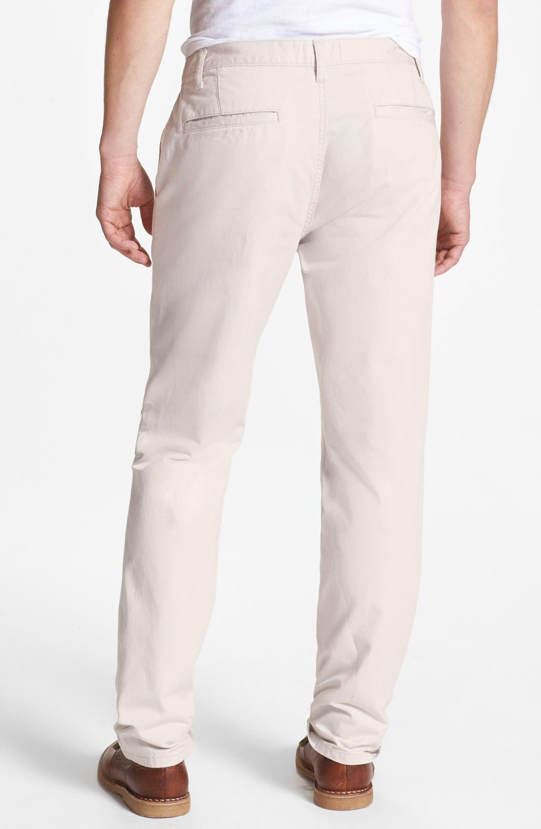 Alternate Image 2  - Topman Cotton Trousers
