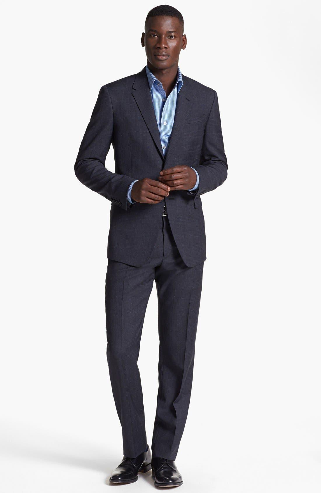 Main Image - Paul Smith London Plaid Wool Suit
