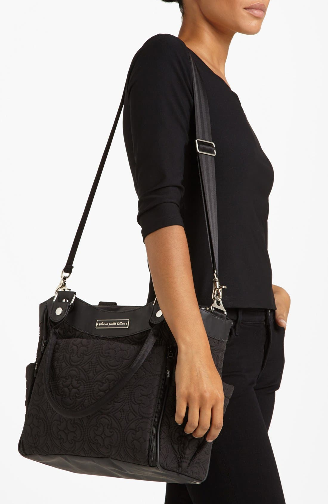 Alternate Image 4  - Petunia Pickle Bottom 'City Carryall' Diaper Bag (Nordstrom Exclusive)