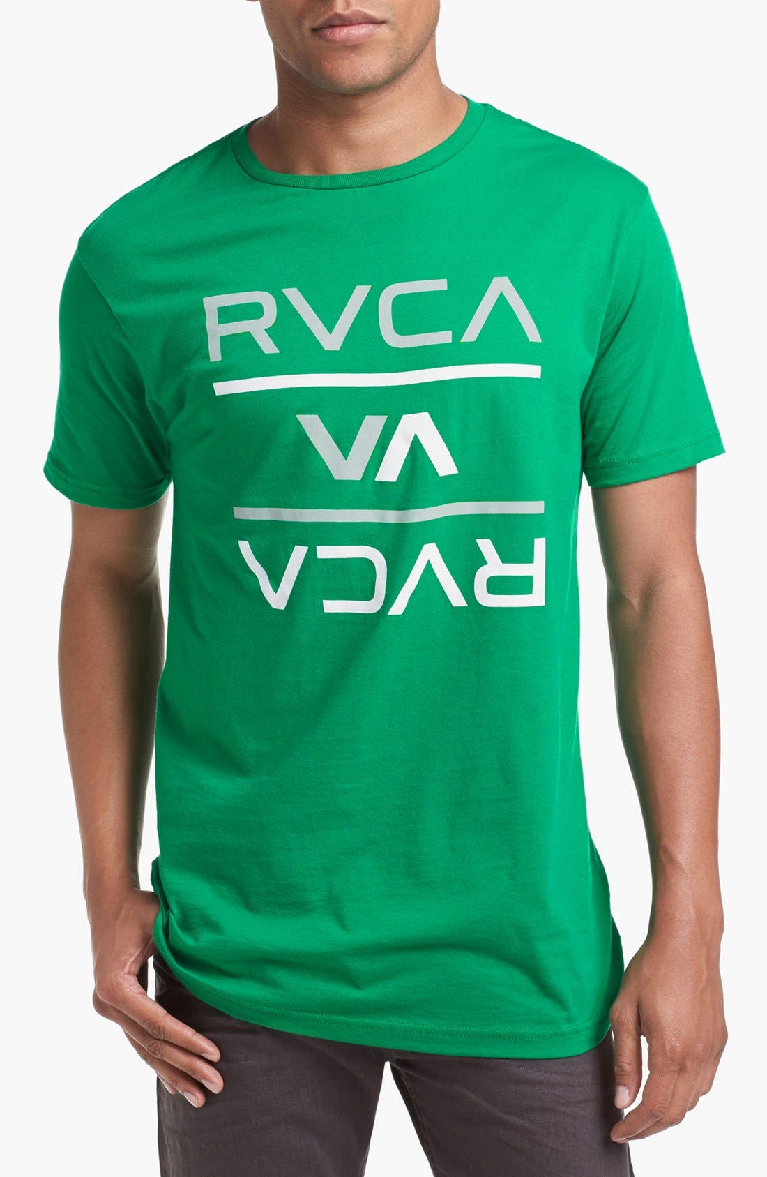 Alternate Image 1 Selected - RVCA 'Reversed' Graphic T-Shirt