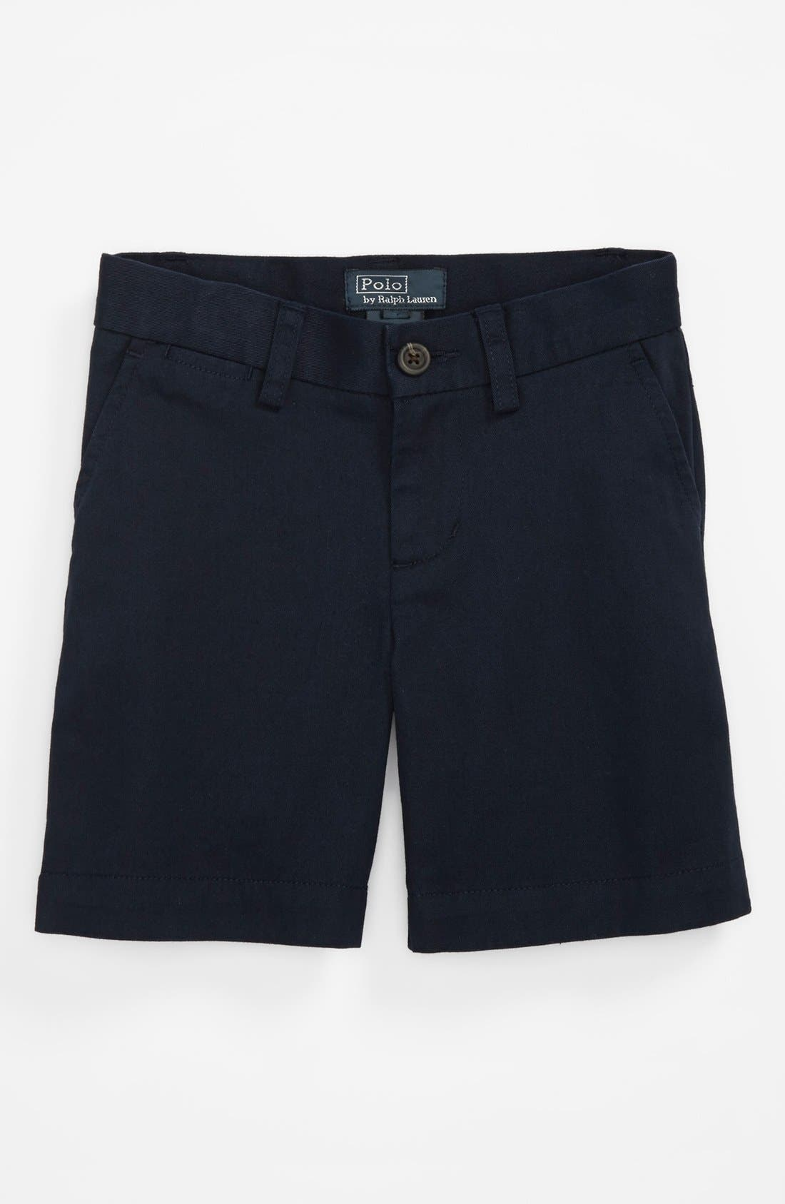 Alternate Image 1 Selected - Ralph Lauren 'Prospect' Shorts (Toddler Boys)