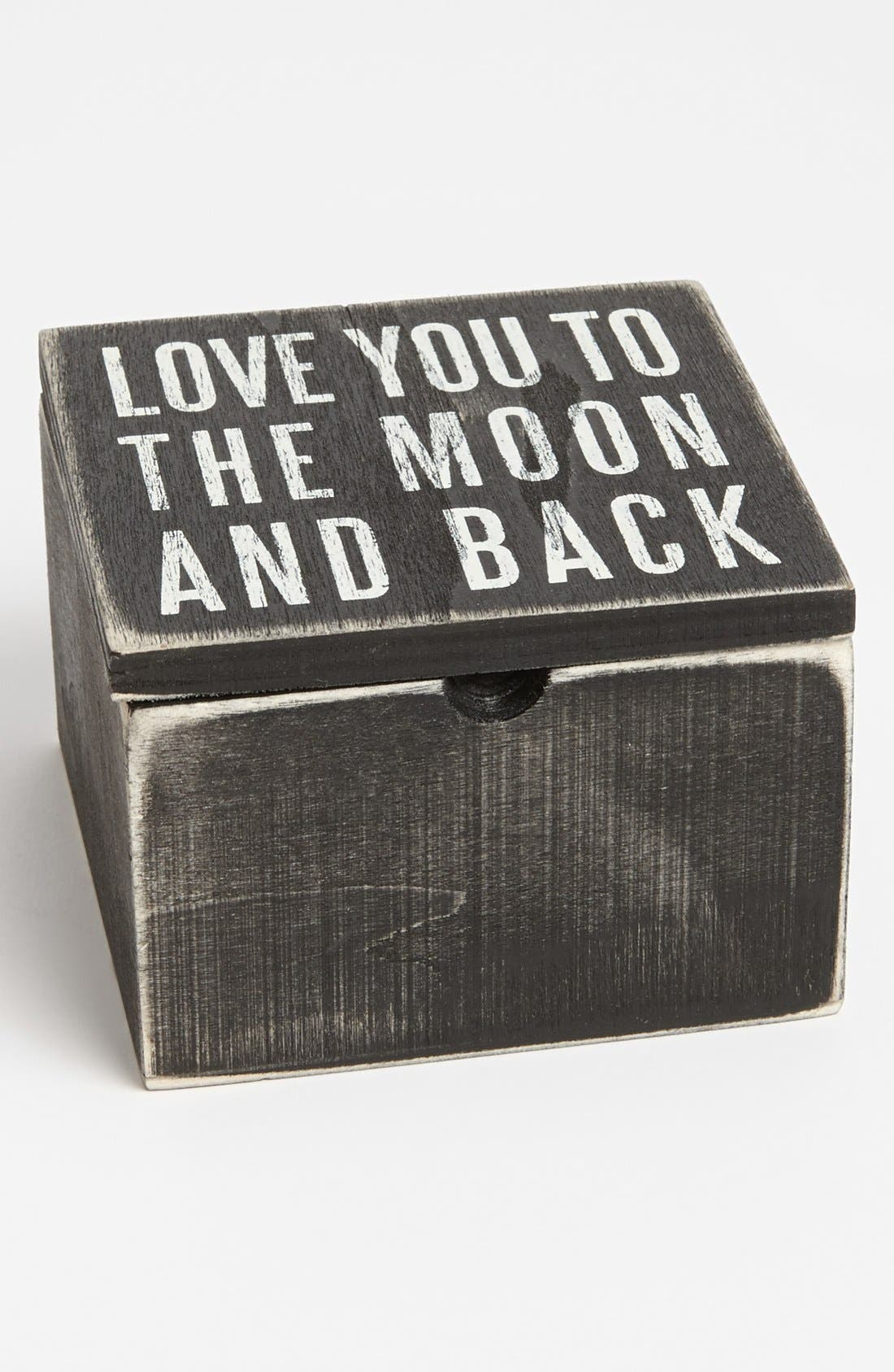 Main Image - Primitives by Kathy 'Love You to the Moon' Box
