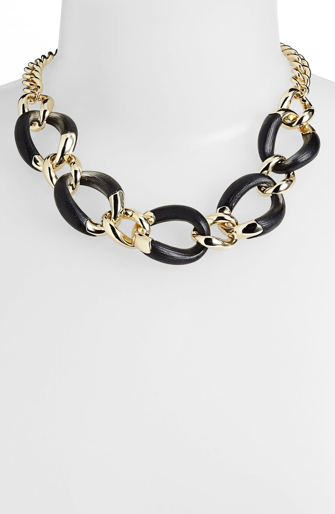 Alternate Image 1 Selected - Alexis Bittar 'Lucite® - Neo Bohemian' Curb Link Necklace