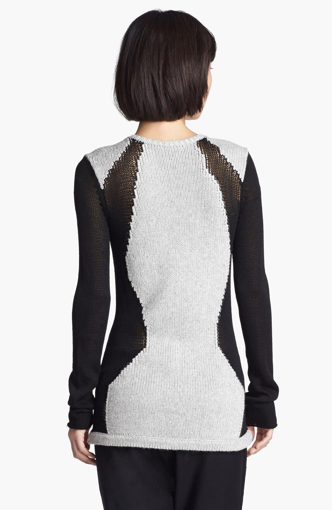 Alternate Image 2  - Helmut Lang Contrast Sweater
