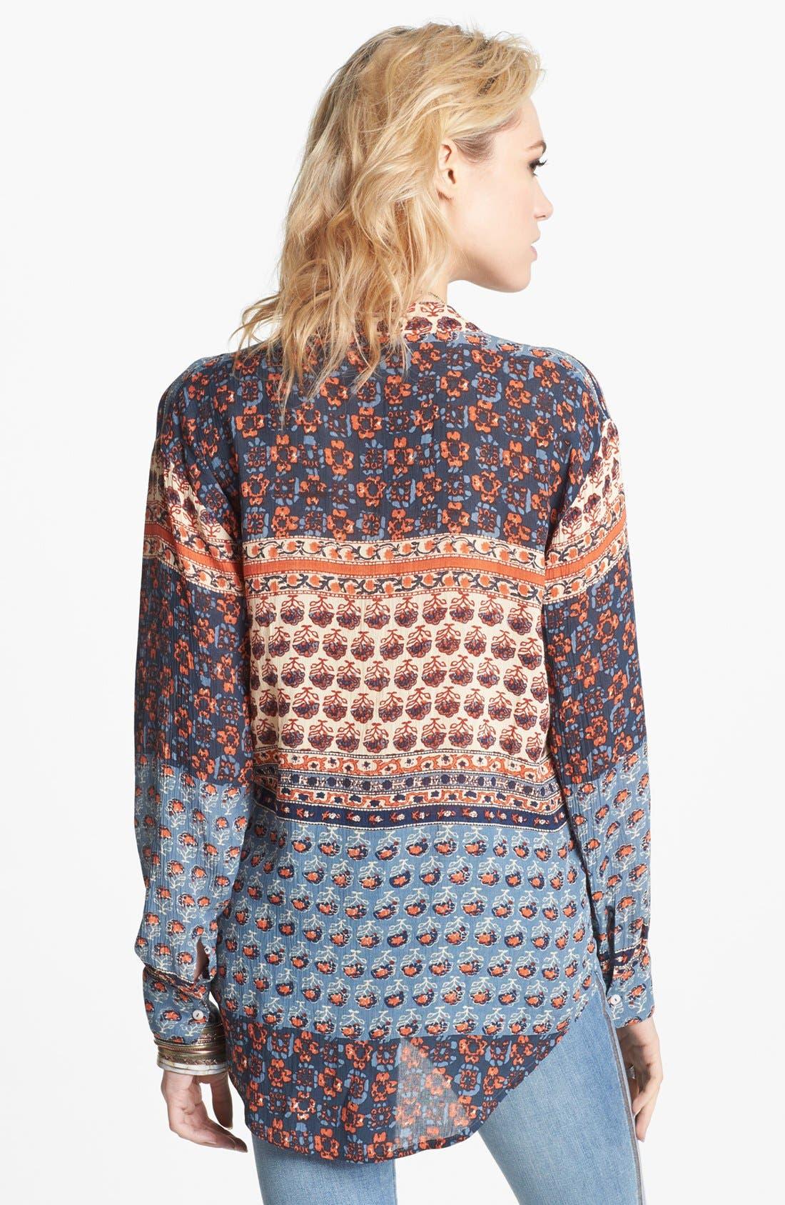 Alternate Image 2  - Free People 'Caravan' Print Shirt