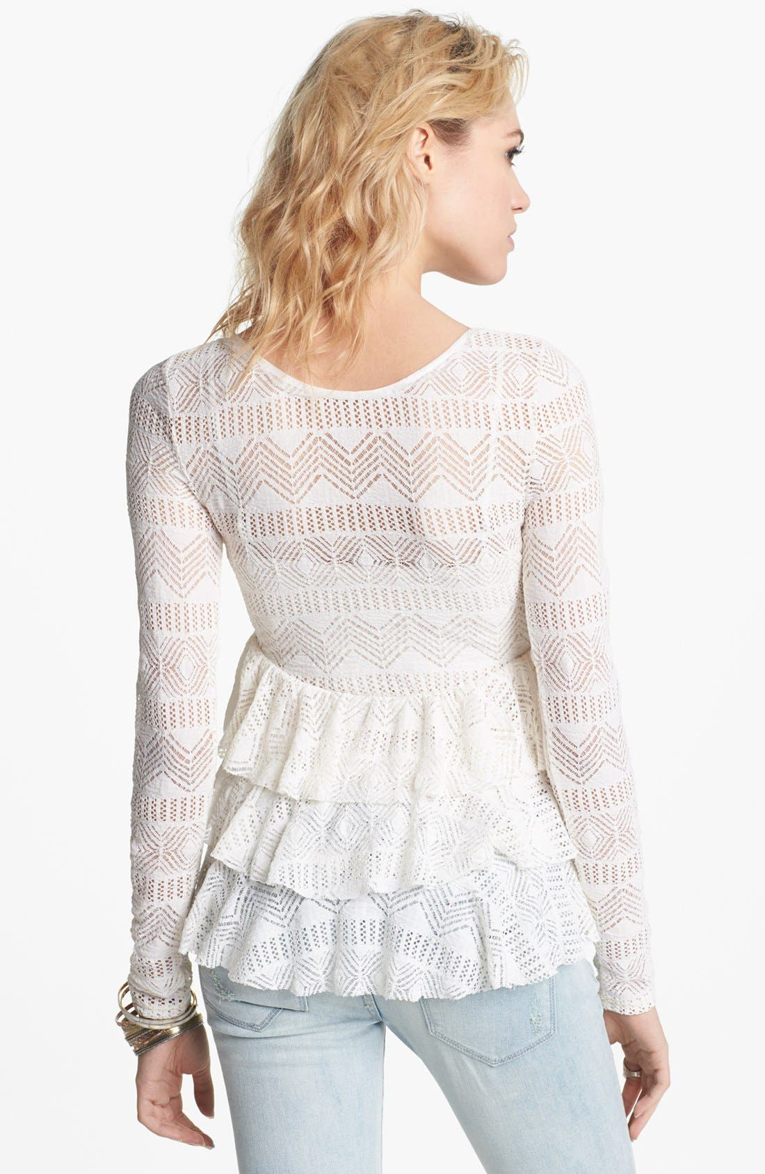 Alternate Image 2  - Free People 'Sweet Dream' Ruffle Top
