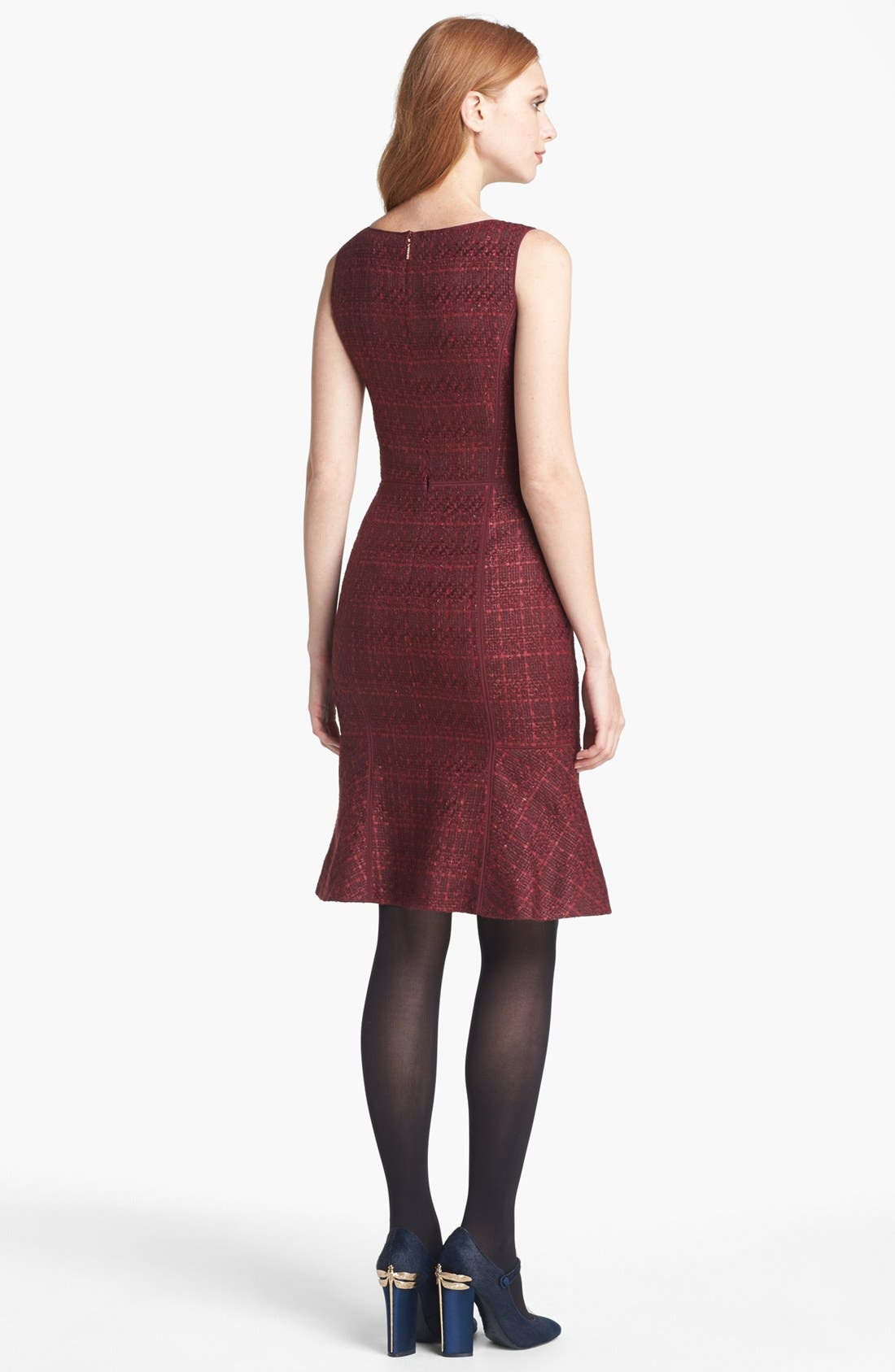 Alternate Image 2  - Tory Burch 'Drew' Tweed Sheath Dress