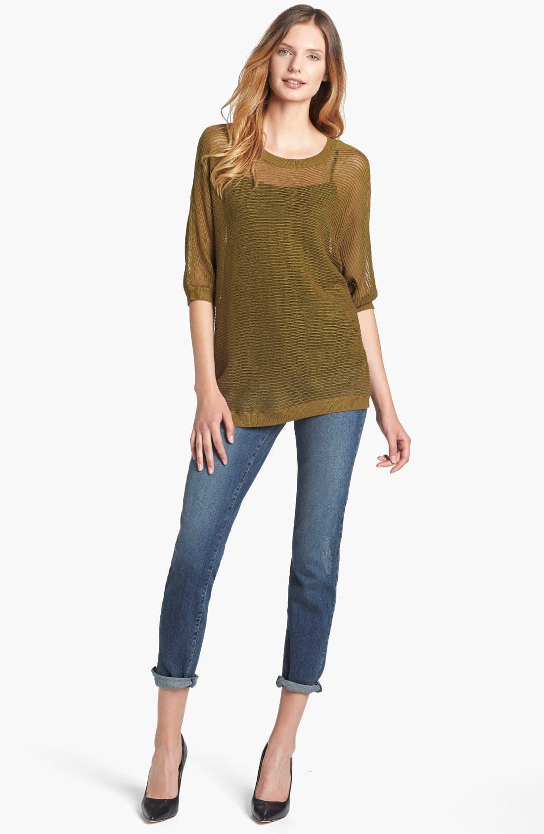Alternate Image 1 Selected - NYDJ 'Leann' Stretch Skinny Boyfriend Jeans (Loma Linda)