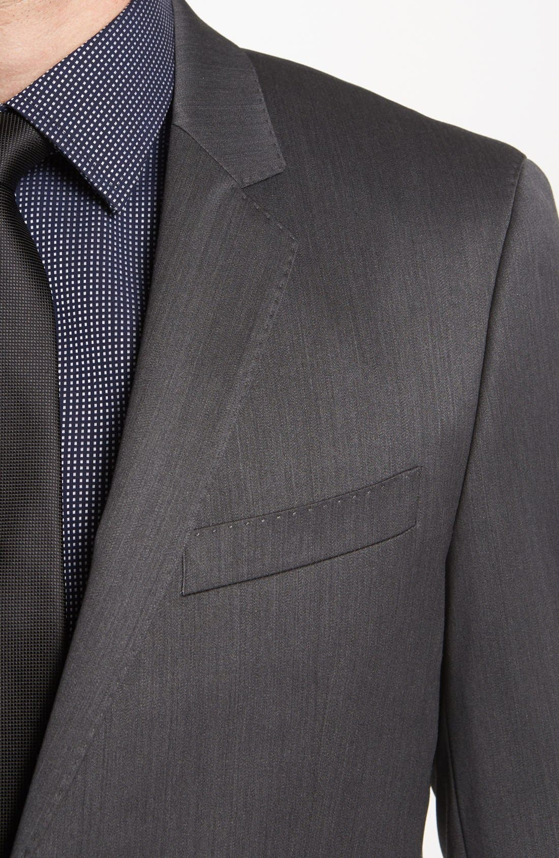 Alternate Image 2  - BOSS HUGO BOSS 'Ryan/Win' Extra Trim Fit Suit