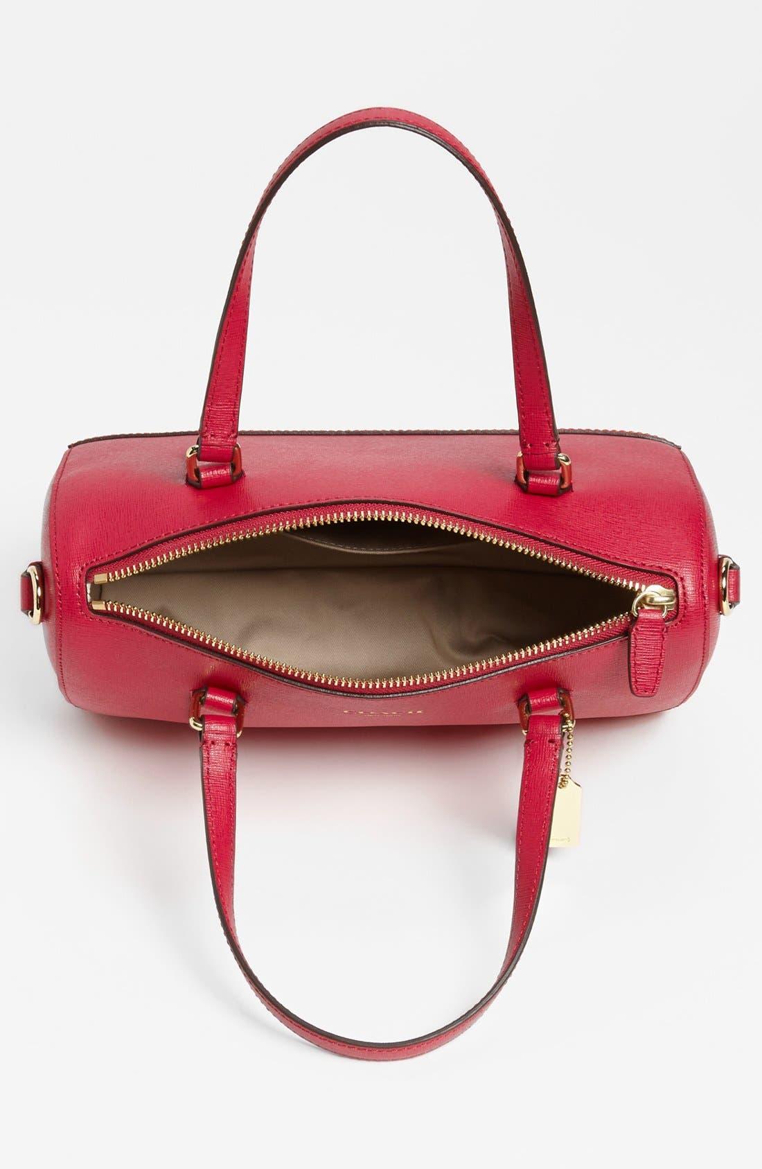 Alternate Image 3  - COACH 'Mini' Saffiano Leather Satchel