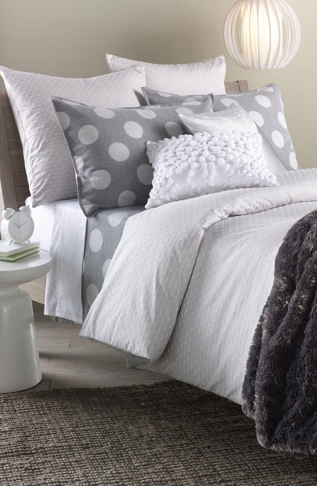 Alternate Image 4  - Nordstrom at Home 'Dottie' Flannel Blanket
