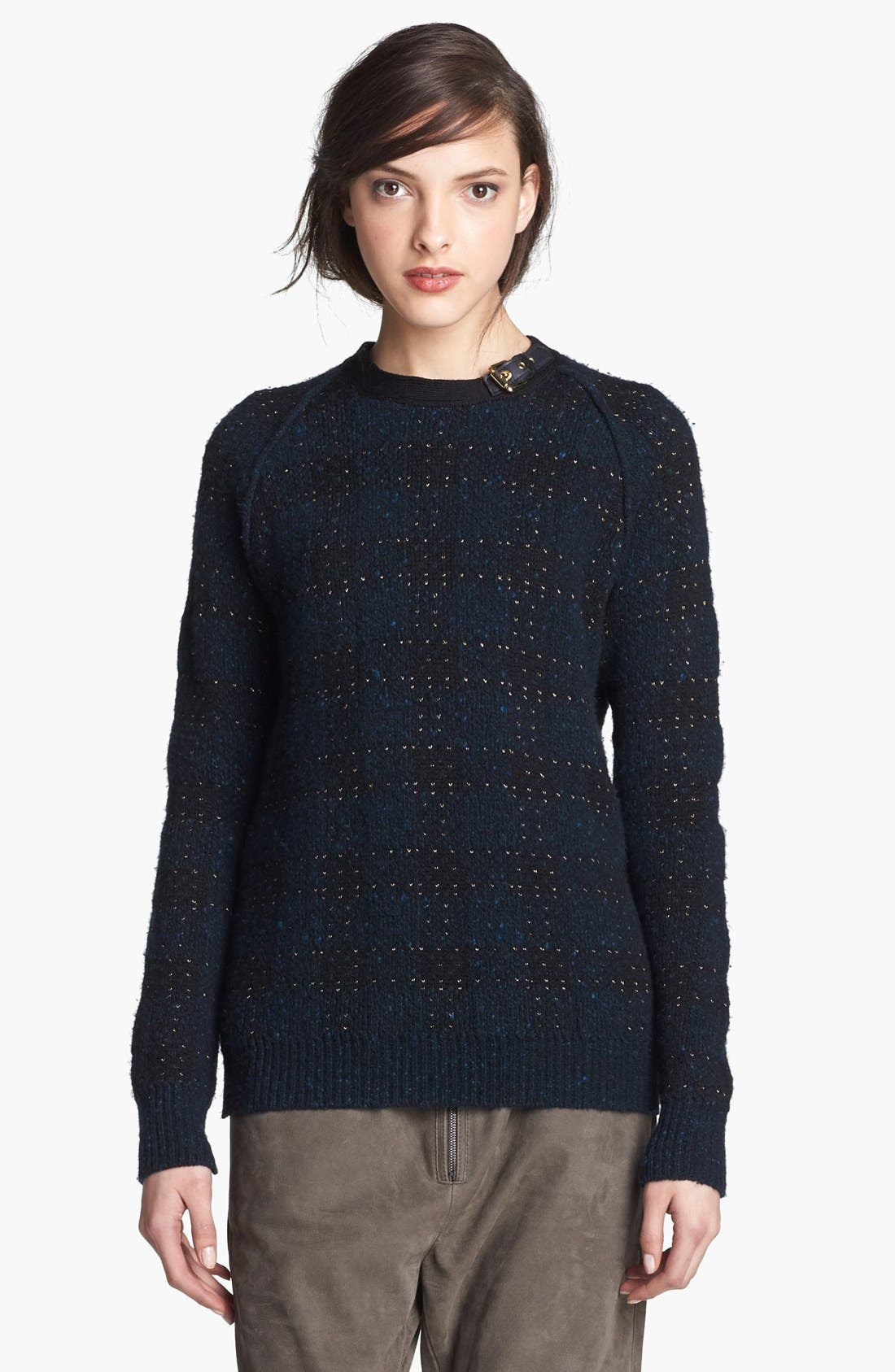 Alternate Image 1 Selected - 3.1 Phillip Lim Plaid Sweater