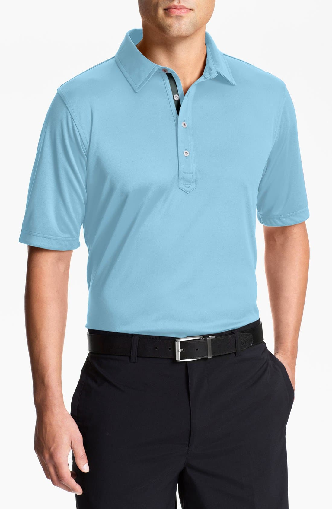 Alternate Image 1 Selected - Zero Restriction 'Forged' Polo (Online Only)