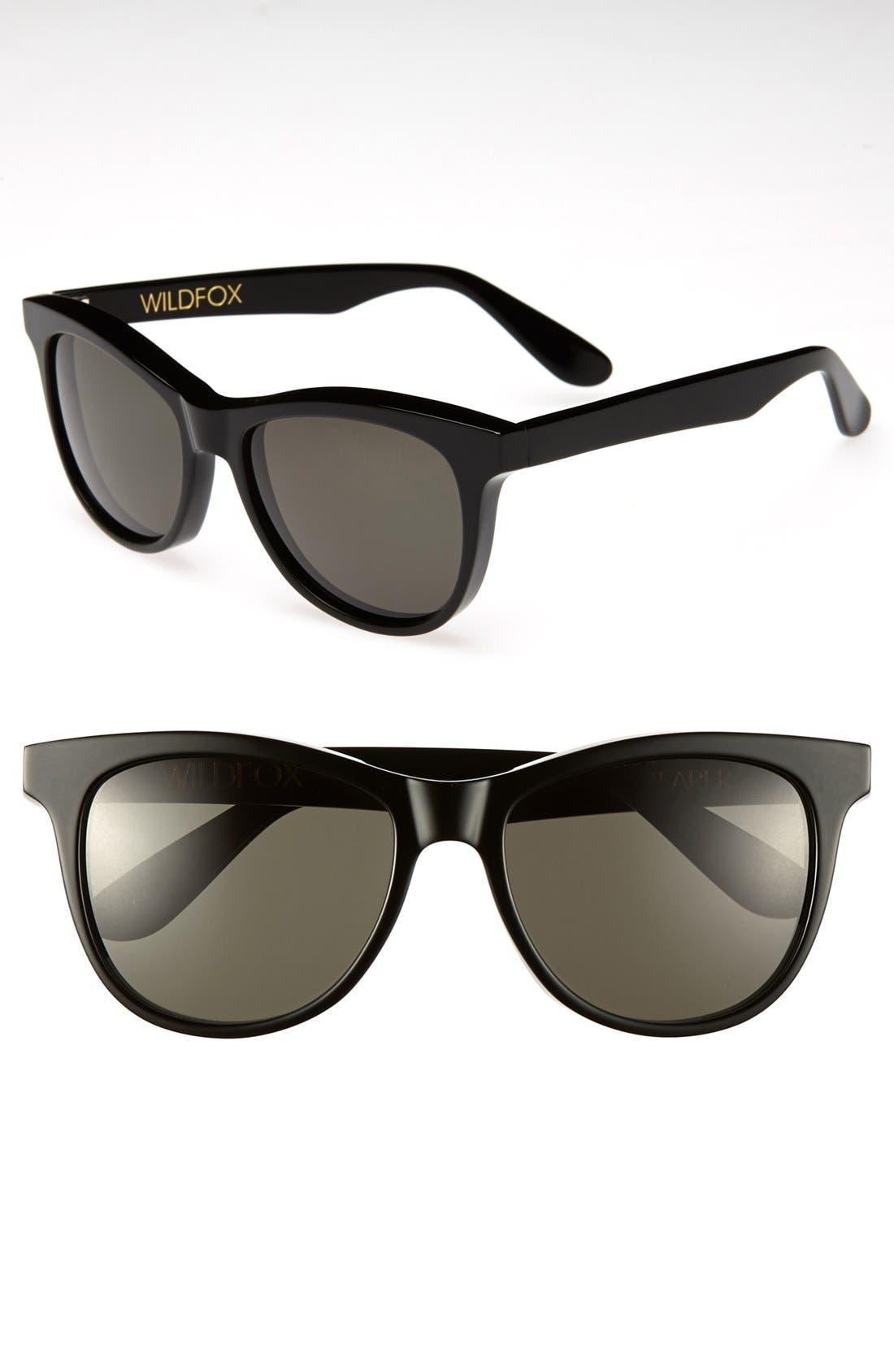 Main Image - Wildfox 'Catfarer' 55mm Sunglasses