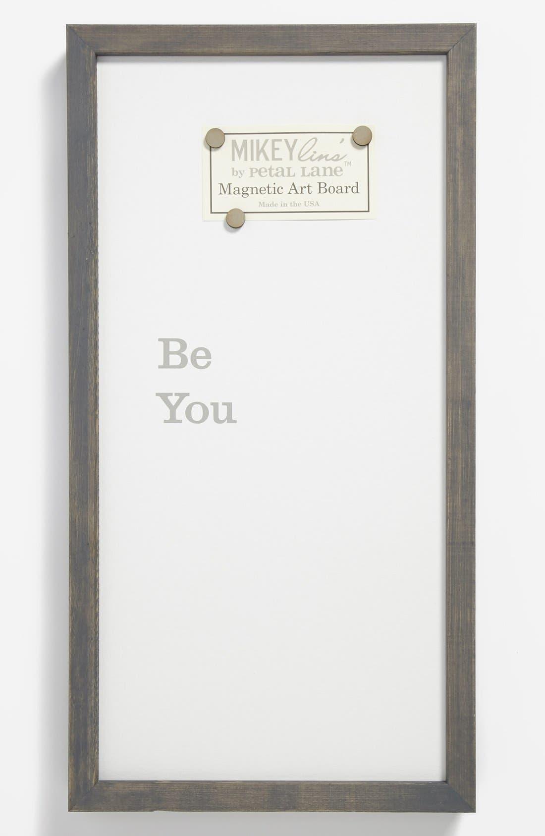 Alternate Image 1 Selected - 'Be You' Framed Magnet Board