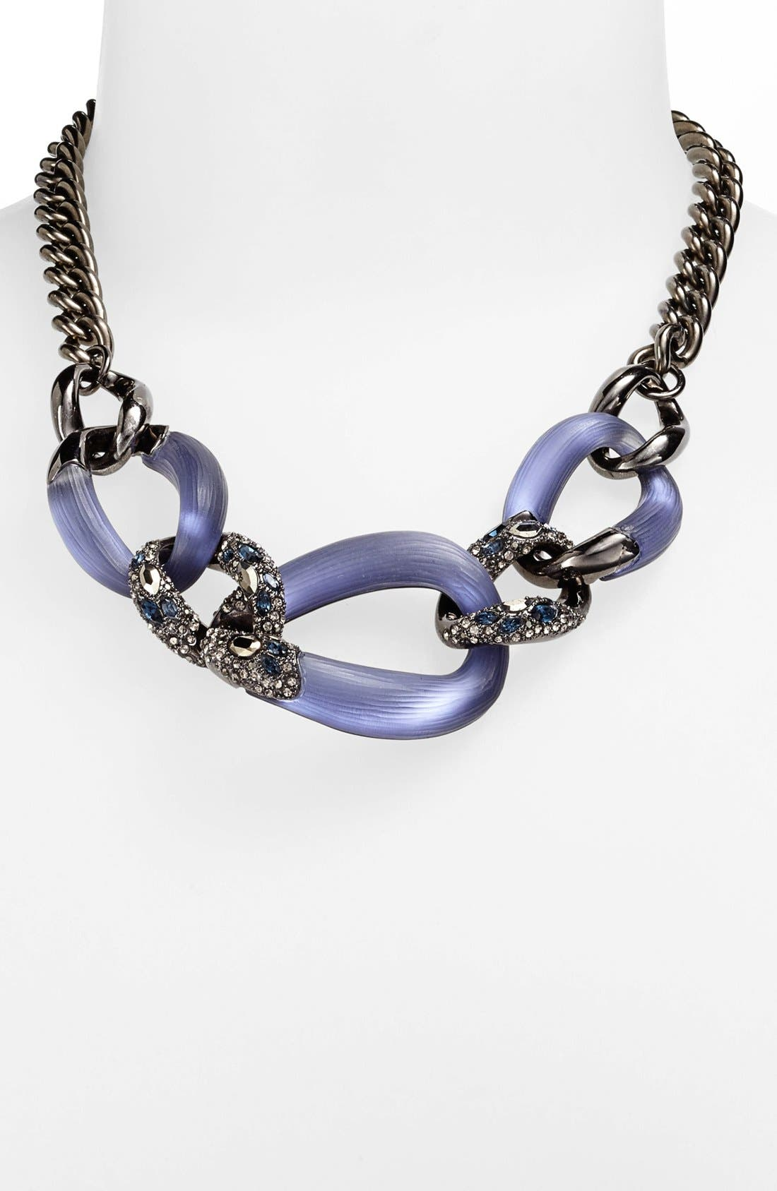 Alternate Image 1 Selected - Alexis Bittar 'Lucite® - Neo Bohemian' 3-Link Frontal Necklace
