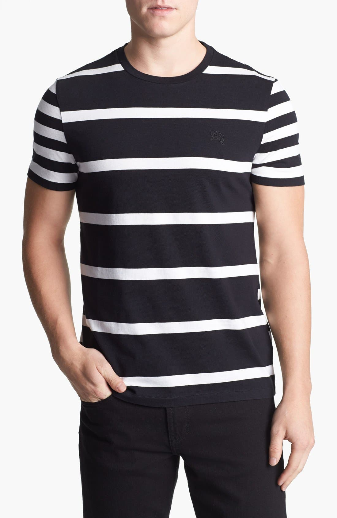 Alternate Image 1 Selected - Burberry Brit 'Hume' Stripe T-Shirt