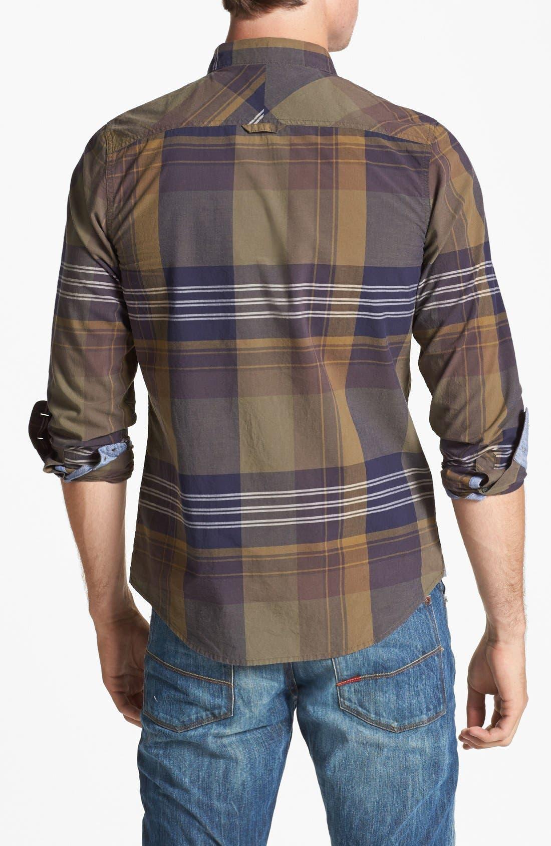 Alternate Image 3  - 1901 Plaid Poplin Shirt